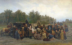 Встреча иконы (Савицкий К.А., 1874)