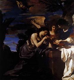 Магдалина и два ангела