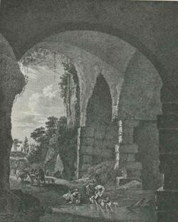 Римская руина (Я. Асселейн)