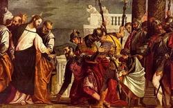 Христос и сотник (Паоло Веронезе)