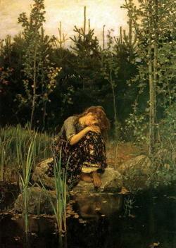 Аленушка (Васнецов В.М., 1881)