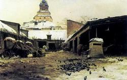 Постоялый дом в Москве (С.И. Светославский, 1892)