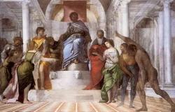 Суд Соломона (Себастьян дел Пиомбо)