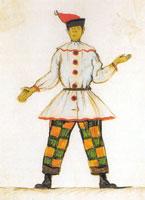 Петрушка. 1911 г.