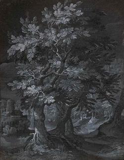 Лесной пейзаж (Гилис ван Коникслоо)