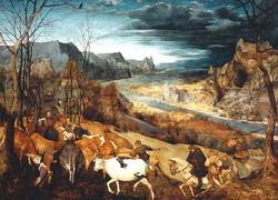 Осень (И. Брейгель-Старший)