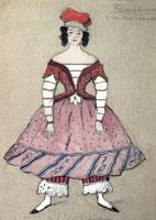 Балерина. 1911 г.