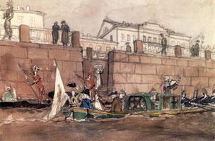 Карнавал на Фонтанке. 1900-е г.