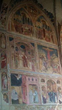 Фрески в церкви Эримитани (Падуя)
