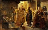 Христос в синагоге (Н.Н. Ге)