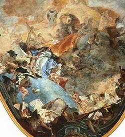 Взятие Богородицы на небо (Джованни Баттиста Тиеполо)