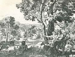Аркадийский пейзаж (Ж. де Нейе)