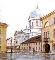 Вечерний дождь. 1904 г.