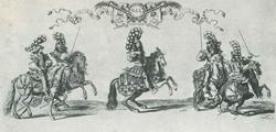 Людовик XIV на карусели 1662 года (Шово)
