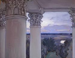Вид из усадьбы (М.В. Якунчикова)