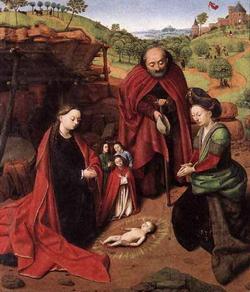 Рождество Христово (Петрус Кристус, 1452 г.)