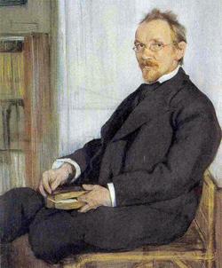 Портрет писателя В.В. Розанова (Л.С. Бакст, 1901)
