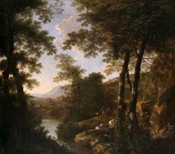 Итальянский пейзаж (Ян Бот)