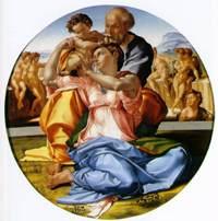 Дони Тондо. Святое семейство. Микеланжело Буонарроти