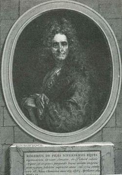 Портрет Роже де-Пиль (Гравюра Пикара-Римского)