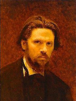 Автопортрет (И.Н. Крамской, 1874 г.)