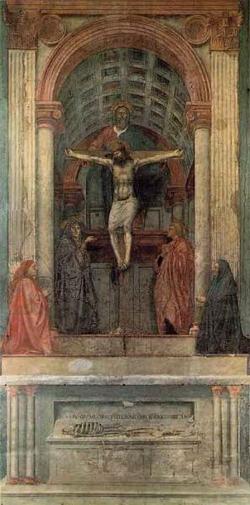 Фреска в церкви S. Maria Novella