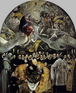 Погребение графа Оргаза (Греко)