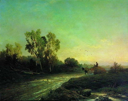Перед дождем (Васильев Ф.А., 1869)