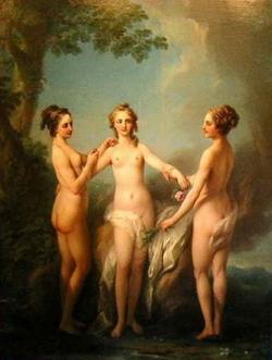 Три грации (Жан-Батист Ванлоо)