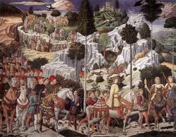 Шествие волхвов (Беноццо Гоццоле)