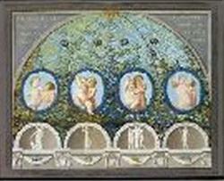 Роспись свода в монастыре Saan Paolo