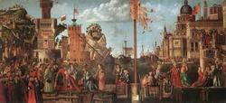 Прощание жениха святой Урсулы и отвод Святой Урсулы в Рим (Карпаччио)