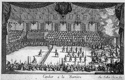 Празденство пр дворе лотарианского герцога (Калло)