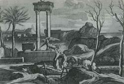 Бегство в Египет (С. Бурдон)