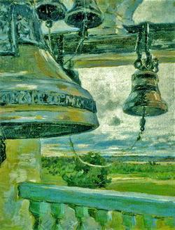 С колокольни  монастыря (М.В. Якунчикова-Вебер)