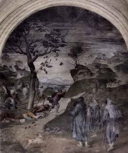 Чудо святого Филиппа Бенници (Андреа дель Сарто)