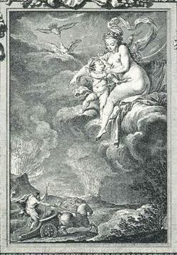 Иллюстрация из Овидьевых Метаморфоз (Ш. Эйзен)