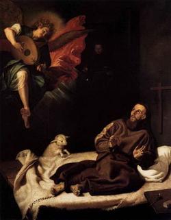 Видения св. Франциска (Рибальта Старший)