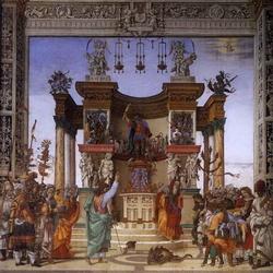 Святой Филипп исцеляет бесноватого (Филиппино Липпи)