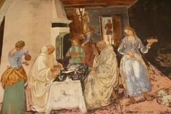 Эпизод из жития святого Бенедикта (Лука Синьорелли)