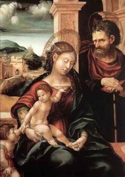 Святое семейство (Ганс Бургмайер)