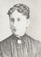 Елизавета Ильинична Раевская. 1889 г.