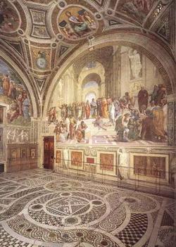 Stanza della Segnatura в Ватикане (Рафаэль)
