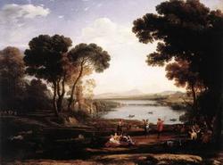 Пейзаж с мельницей (Клод Лоррен)